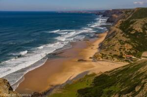 Blick auf Praia Cordoama-00280